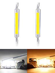 Недорогие -2pcs 10 W Люминесцентная лампа 1000 lm R7S T 1 Светодиодные бусины COB Новый дизайн Тёплый белый Белый 220-240 V 110-120 V