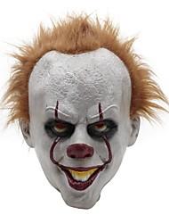 Недорогие -латекс хэллоуин страшная маска косплей клоун вечеринка опора