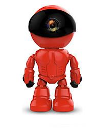 Недорогие -960p 1,3-мегапиксельная беспроводная Wi-Fi камера робота ночного видения двусторонняя передача звука