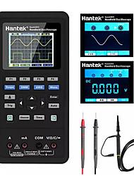 Недорогие -Цифровой осциллограф Hantek 3in1 генератор сигналов формы мультиметр портативный usb 2 канала 40 мГц 70 мГц жк-дисплей измерительный прибор инструменты ультра-малой мощности дизайн с литиевой батареей