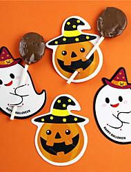 Недорогие -Хэллоуин бумага сахар карты праздничные украшения партии пакет хэллоуин поставок