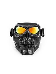 Недорогие -уникальные череп головы мотоциклетные очки очки для мотокросса внедорожный велосипед грязи защитное снаряжение