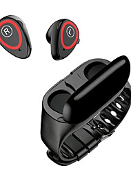 Недорогие -litbest qcr xc11 2in1 tws беспроводные наушники smartwatch bluetooth 5.0 наушники дисплей питания сенсорное управление спорт стерео беспроводные наушники гарнитура коробка для зарядки