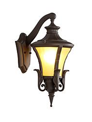Недорогие -непромокаемый ретро Винтаж / классический / стильный настенный светильник для экстерьера / для сада металлический настенный светильник ip 65