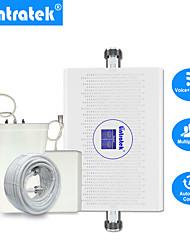 Недорогие -Lintratek новый 70 дБ GSM 3G двухдиапазонный усилитель сигнала agc / alc umts 2100 900 МГц 23 дБм GSM ретранслятор 3g сотовый усилитель сигнала