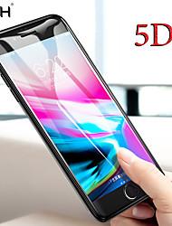 Недорогие -Стекло nfh 5d закаленное для iphone 7 8 x 6 6s плюс 5 d Защитная пленка для экрана iphone on xs max xr 10 Пленка с полным покрытием края 5 d