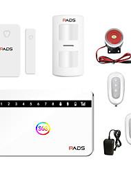 Недорогие -Беспроводная GSM охранная сигнализация Датчик движения Детектор голоса Защита