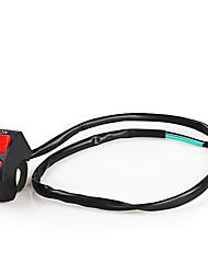 Недорогие -Переключатель светодиодных фар ремонт 22 мм Руль монтажный выключатель кнопка для мотоцикла велосипеда калибра 22 мм