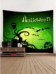 Недорогие -хэллоуин декор стен полиэстер средиземноморский / современный декор стен, гобелены украшения