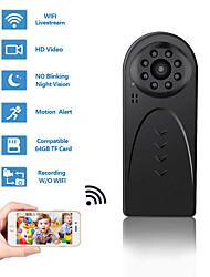 Недорогие -Мини Wi-Fi камера беспроводная HD 1080 P камера для домашнего офиса безопасности с обнаружением движения ночного видения