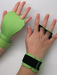 Недорогие -Тренировочные перчатки Полиэстер Регулируется Прочный Поддержка запястья Полная защита кистей и надёжный захват Фиксирующий шнурок Аэробика и фитнес Гиревой спорт Разрабатывать Для Мужчины
