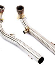 Недорогие -вставной контакт мотоцикла выхлопной трубы среднего среднего звена для yamaha tmax530 2008-2017