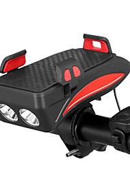 Недорогие -Светодиодная лампа Велосипедные фары Передняя фара для велосипеда Велоспорт Портативные Для профессионалов Прочный Литий-ионная 400 lm Работает от USB Батарея Белый
