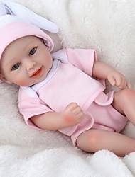 Недорогие -NPK DOLL Куклы реборн Куклы Девочки 16 дюймовый Безопасность Подарок Очаровательный Детские Универсальные Игрушки Подарок