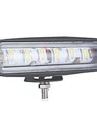 Недорогие -90 Вт 6-дюймовый выпуклый объектив 6led рабочий свет 12v24v 4x4 автомобильный светодиодный светильник package1pcs