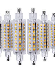 お買い得  -ywxlight® 6ピースR7S 78ミリメートル2835SMD 64 LEDプラグLmpada水平LED電球コーンライトウォームホワイトコールドホワイトナチュラルホワイトAC 220-240 V AC 110-130 V