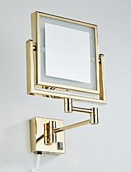 billige -Speil Speil Moderne Moderne Rustfritt Stål Baderomsdekorasjon
