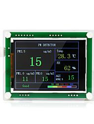 Недорогие -PMS5003 автомобиль PM2,5 детектор тестер метр качества воздуха монитор дома газовый термометр анализ для домашнего автомобиля офис на открытом воздухе