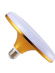 Недорогие -светодиодный золотой нло лампы фабрики склад освещения e27 винт 50 Вт энергосберегающие лампы пузырь