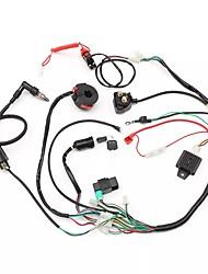 Недорогие -жгут проводов ткацкий станок электромагнитный выпрямитель cdi 50cc 70cc 110cc 125cc квадроцикл ATV Go Kart