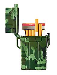 Недорогие -водонепроницаемый прикуриватель usb зажигалка электронный импульсный двойной дуги зажигалка плазменные перезаряжаемые зажигалки