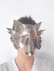 お買い得  -1ピースハロウィンマスクテロリスト動物マスク悪オオカミ悪魔オオカミオオカミヘッド大人オオカミ