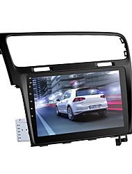Недорогие -одна дин стерео для VW Golf - Android 8.0.1 GPS Bluetooth Wi-Fi 3g&Усилитель 4g восьмиъядерный процессор 10,2-дюймовый дисплей HD может шина