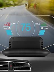 Недорогие -C1 HD цветной ЖК-дисплей автомобиля HUD Head Up Display OBD2 GPS дисплей головы