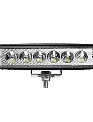 Недорогие -1 шт. 18 Вт 12/24 В ip65 автомобиль светодиодный прожектор свет прожектор внедорожный грузовик atv лодка грузовик