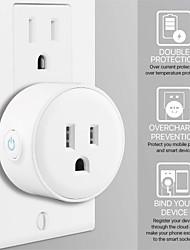 Недорогие -умный штекер для гостиной / учебы / для управления спальней / функция времени / умный wifi 110-150 В умный штекер sokcet-us