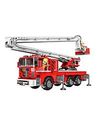 Недорогие -Конструкторы 751 pcs Пожарные машины совместимый Legoing Очаровательный Все Игрушки Подарок