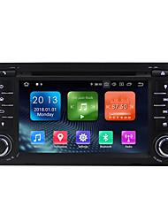 Недорогие -Winmark wn7047 7 дюймов 2 DIN Quada Core 2G 16G Android 9,0 Автомобильный DVD-плеер в приборной панели Автомобильный мультимедийный плеер Автомобильный GPS-навигатор Wi-Fi Ex-3G DAB / GPS / встроенный