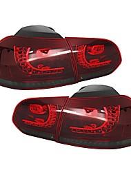 Недорогие -задний светодиодный фонарь красного цвета для задних фонарей vw golf 6 2008-2013