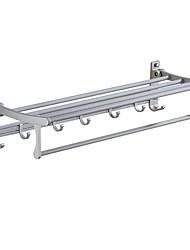 billige -Håndklestang Kreativ / Multifunktion Moderne Aluminium 1pc Vægmonteret