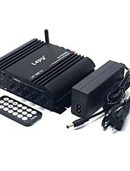Недорогие -lepy lp-168 plus bluetooth ir / 2.1ch 45w-2 68w басовый hifi цифровой стереоусилитель (регламент США)