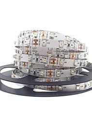 Недорогие -5 метров Гибкие светодиодные ленты / Гирлянды 300 светодиоды SMD3528 Тёплый белый / Белый / Красный Творчество / Декоративная / Самоклеющиеся 12 V 1шт