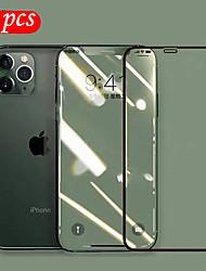 Недорогие -9h закаленное стекло 6d полная защитная пленка для экрана для iphone 11/11 pro / 11 pro max / x xs xr xs max / 7 8 плюс защитный HD / Blue Ray