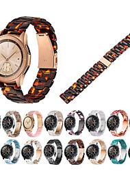 Недорогие -Быстрый выпуск смолы 22 мм ремешок для часов для часов Huawei GT / часы 2 Pro / честь волшебный браслет браслет браслет
