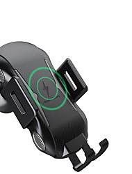 Недорогие -новый интеллектуальный автоматический датчик беспроводной розетки универсальный автомобиль быстрое зарядное устройство кронштейн мобильного телефона