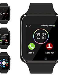 Недорогие -a1 наручные часы bluetooth smart watch спортивный шагомер с сим-камерой smartwatch для Android-смартфона
