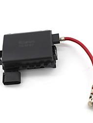 Недорогие -Клемма аккумулятора блока предохранителей для VW Jetta Golf MK4 Жук 1J0937550A / B черный