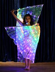 Недорогие -Аксессуары для танцев Крылья Исиды Девочки Выступление Терилен LED
