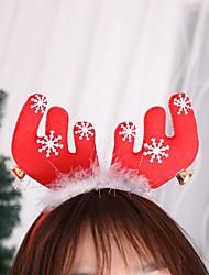 Недорогие -2 шт. Рождественский олень повязка на голову рождественские уши волосы голова аксессуары фотографии аксессуары для взрослых универсальная женщина