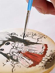 Недорогие -10шт торт кисть украшения ручка сахар ремесло инструмент шоколадная щетка инструменты украшения торта