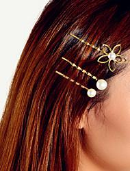 Недорогие -Жен. Классический модный Мода Жемчуг Украшения для волос Новый год День рождения