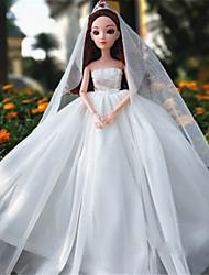 Недорогие -11-дюймовый высокого класса подарок девушка принцесса роскошный свадебное платье океана юбки большой цветок из влагалища