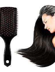 Недорогие -массажная расческа широкий зубной скальп массажная расческа подушка безопасности большая тарелка расческа пластиковая завивка волос длинная плоская расческа