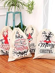 Недорогие -Рождественский мешок санта-олень кордон санта-мешок новый год рождественские украшения дома чулки подарочная сумка