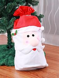Недорогие -1 шт. Санта-Клаус рюкзак большой карманный подарок рождественский мешок
