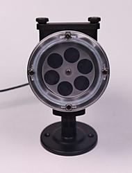 Недорогие -1шт 3 W Свет газонные Дистанционно управляемый / Свет проектора 100-240 V Уличное освещение / двор 4 Светодиодные бусины